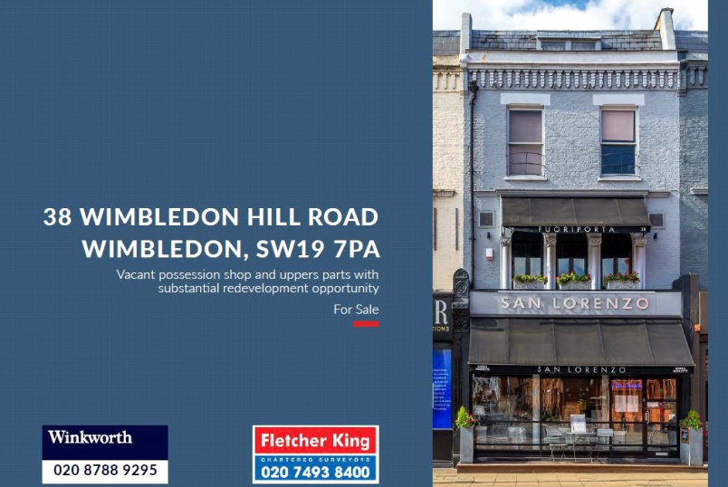 Development plot for sale in Putney - Wimbledon Hill Road, London, SW19