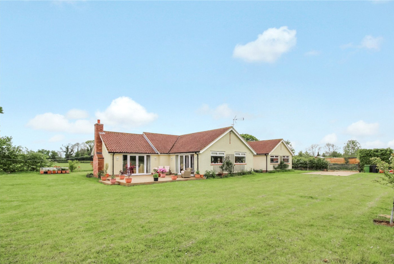 Bungalow for sale in  - Middle Road, Denton, Harleston, IP20
