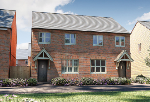 Plot 186, The Studland, Banbury Rise