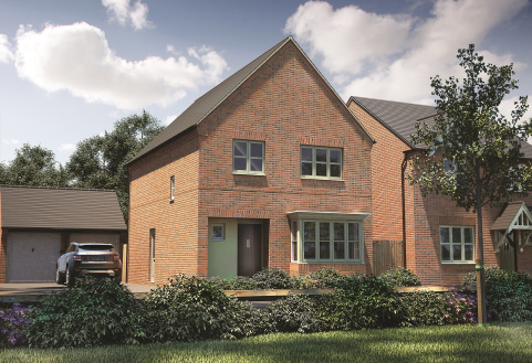 Plot 238, The Bredon, Banbury Rise