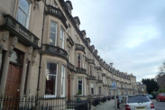 View of Eglinton Crescent, West End, EH12