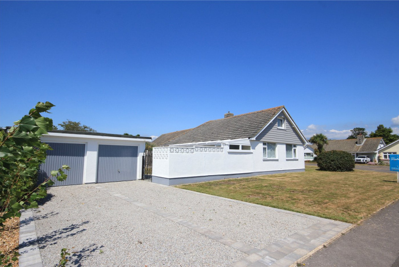 Bungalow for sale in  - Haslemere Avenue, Highcliffe, Christchurch, BH23