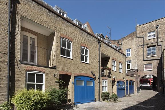 House - terraced to rent in St Johns Wood - RUTLAND MEWS, NW8 0RF