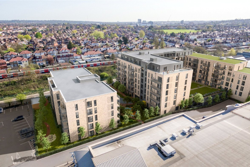 Flat/apartment for sale in  - Queensbury Square, Honeypot Lane, Queensbury, NW9