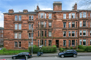 View of Airlie Street, Hyndland, Glasgow, G12