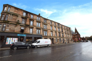 View of Argyle Street, Finnieston, Glasgow, G3