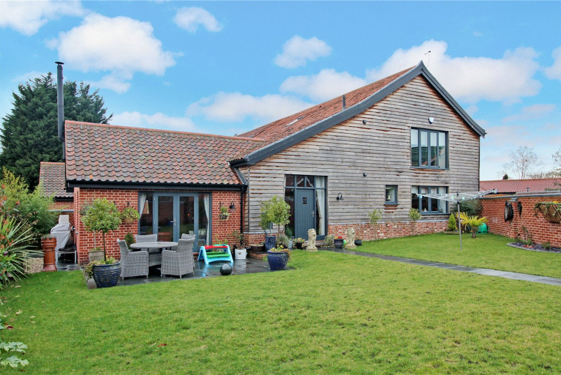 Barn conversion for sale in Poringland - The Street, Poringland, Norwich, NR14