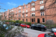 View of Melrose Gardens, North Kelvinside, Glasgow, G20