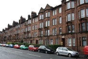 View of Dumbarton Road, Glasgow, G14