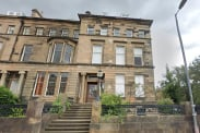 View of Hyndland Road, Glasgow, Lanarkshire, G12