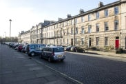 View of Great King Street, Edinburgh, Midlothian, EH3