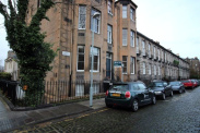 View of Malta Terrace, Stockbridge, EH4