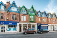 View of High Street, North Berwick, East Lothian, EH39