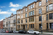 View of Vinicombe Street, Hillhead, Glasgow, G12