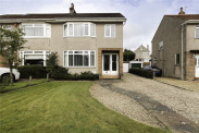 View of Hamilton Crescent, Bearsden, G61