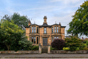 View of Whittingehame Drive, Jordanhill, Glasgow, G12