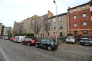 View of Portland Street, Leith, EH6