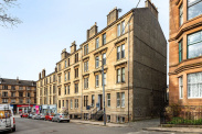 View of Great George Street, Hillhead, Glasgow, G12