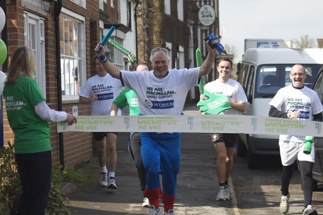 SEYMOURS RAISE OVER £15,000 FOR MACMILLAN CANCER SUPPORT