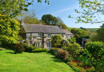 Restored Devon Longhouse and coach house come as an attractive package