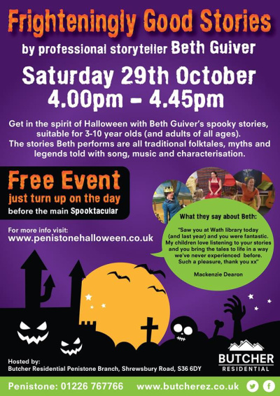 Halloween Storytelling Event
