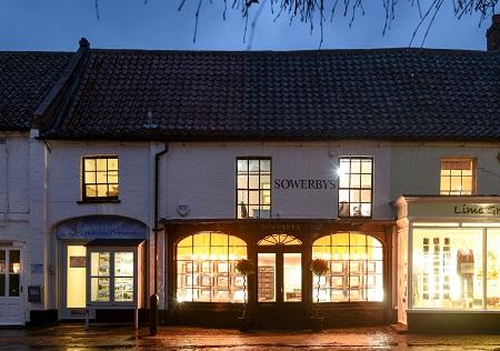 Outside Sowerbys Burnham Market office
