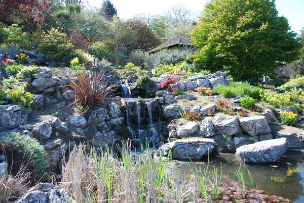 PP rock garden