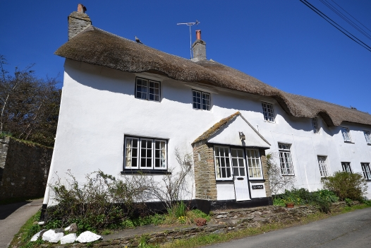 Once famed to be the smallest cottage in Devon