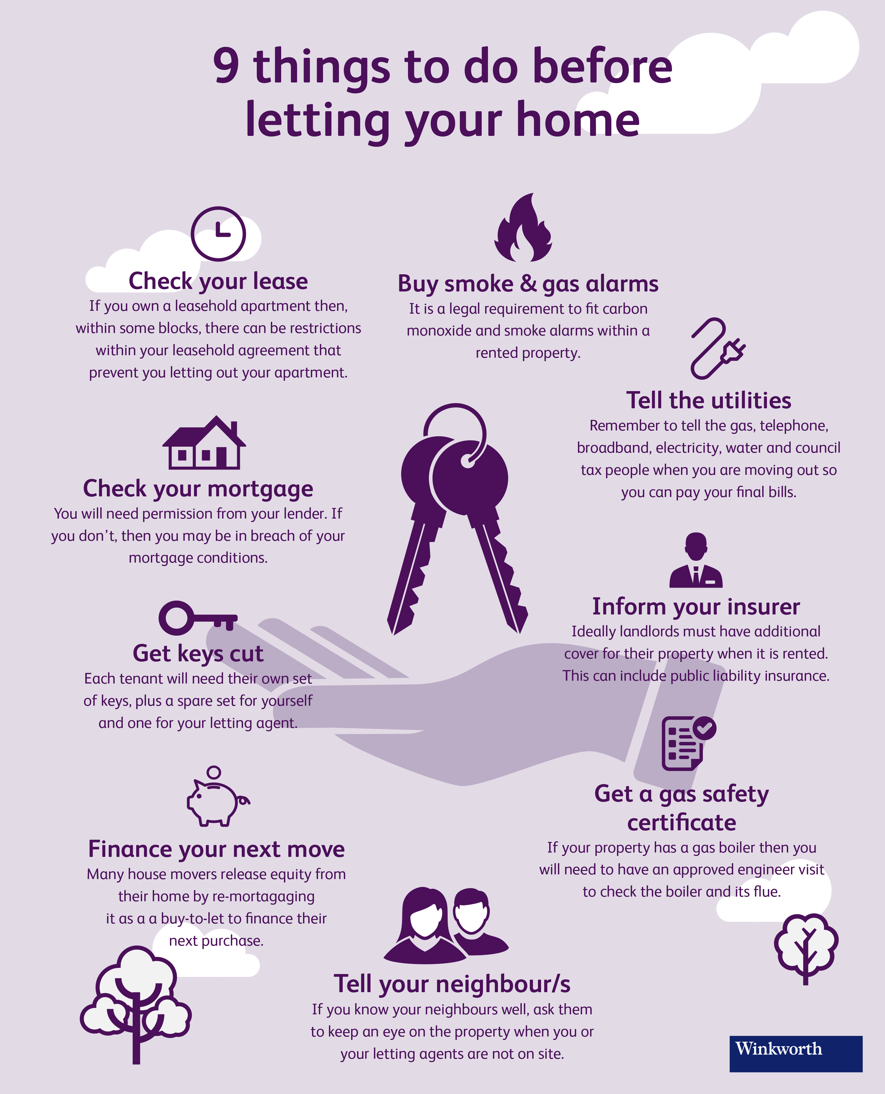 Infographic 9 things to do before letting your home estate agents infographic 9 things to do before letting your home platinumwayz