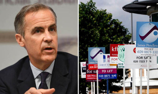 Signs of London recovery but could Carney's comments put the BRAKES on UK property market?