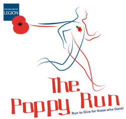 Get yourself along to the Battersea Park Poppy Run this Friday