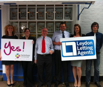 Canterbury BID: It's a 'YES' from Leydon!