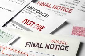Who is responsible for unpaid utility bills when a tenancy ends??