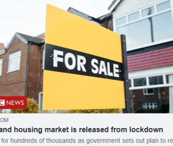 Government Announces Property Market Open Again