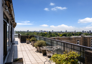 For sale: a rare penthouse overlooking Regent's Park